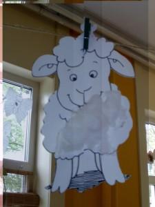 Schaapje met wit wol