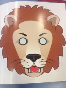 Leeuwen masker (1/2)