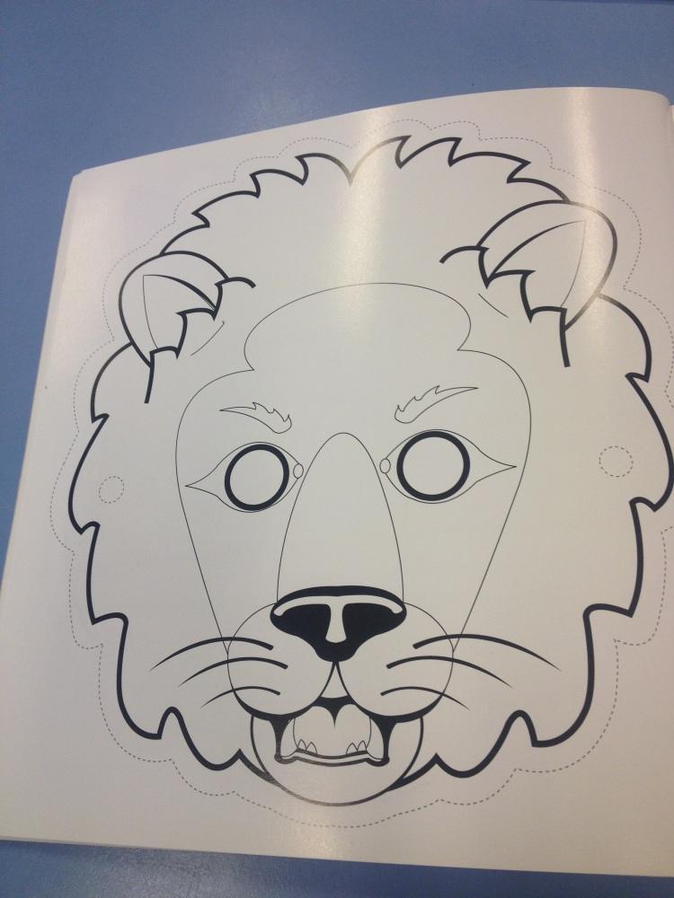 Leeuwen masker (2/2)