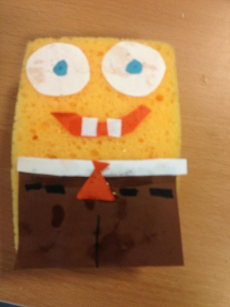 Spongebob Knutselen Knutselen Enzo