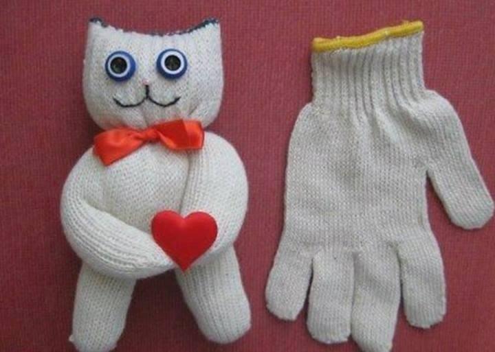 Детские поделки из носков своими руками