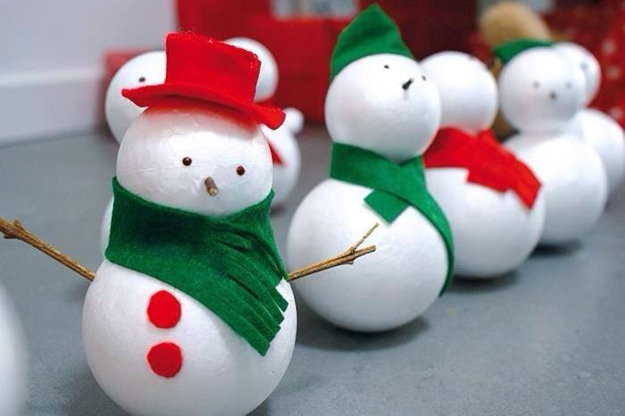 sneeuwpop mannetje knutselen enzo. Black Bedroom Furniture Sets. Home Design Ideas